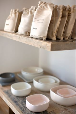 Mungo and Maud, a pet boutique in London. Great minimalism without feeling cold. Repinned via remodelista.