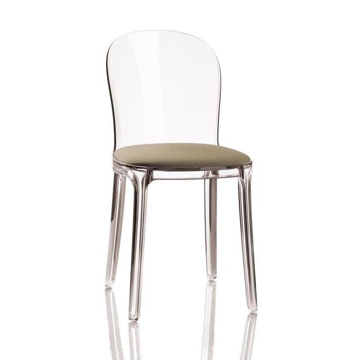 Vanity Chair transparente