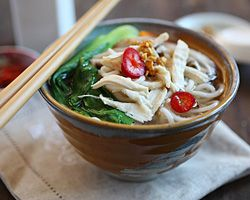 Chinese Chicken Noodle Soup - Easy Recipes at RasaMalaysia.com