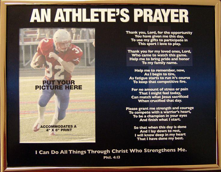 athletes prayer - Google Search