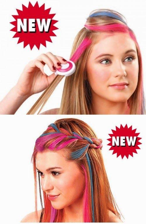 Google+Smývatelné barvy na vlasy, účesy, 4 smývatelné barvy na vlasy hot huez, barvy na vlasy, barva na vlasy Zdroj:www.slevyzbozi.com
