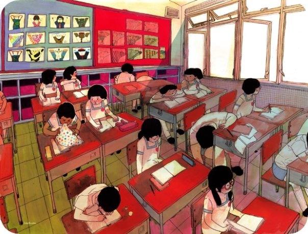 Drawing by Little Thunder, Hong Kong based illustrator