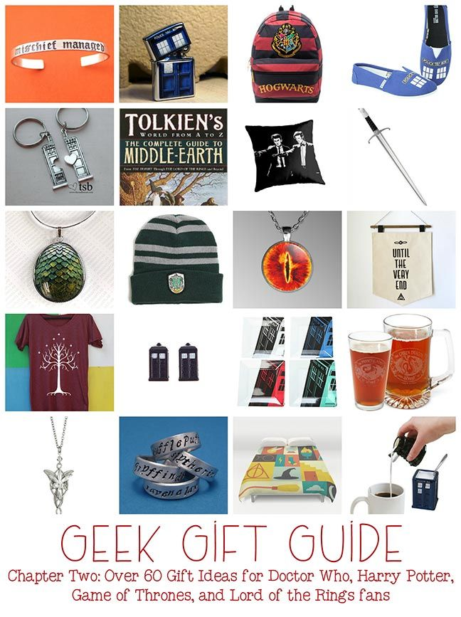 Geek Gifts Gifts For Doctor Who Harry Potter Game Of