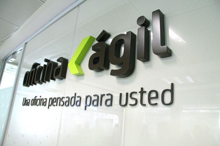 Implantación de nueva imagen en Bankia oficina ágil