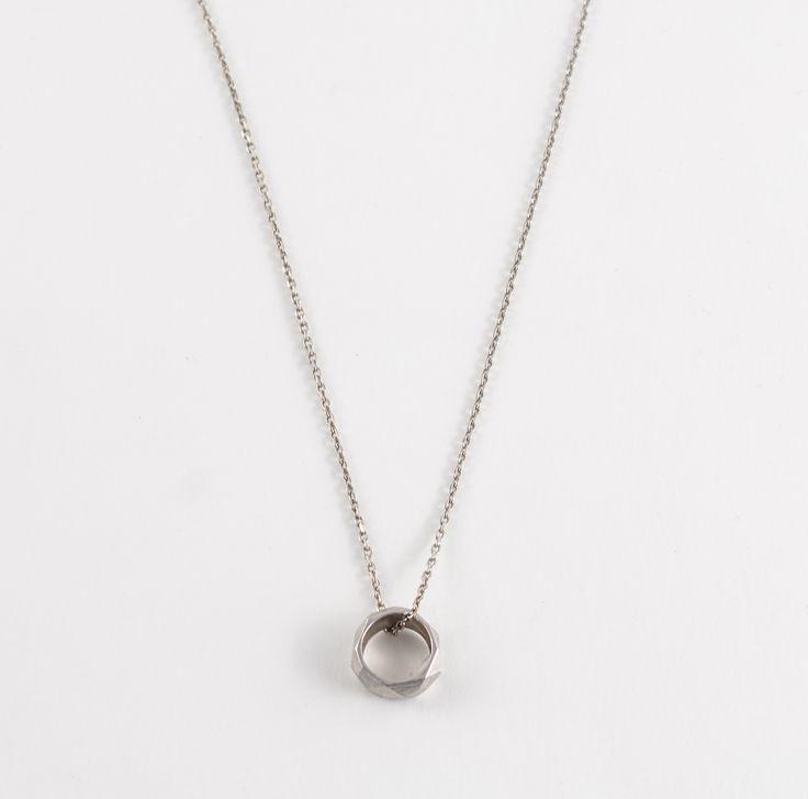 Nova round silver necklace by Zsófia Magyary Zosha http://www.magma.hu/muveszek.php?id=82