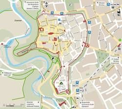 Click to enlarge the view of the town map.