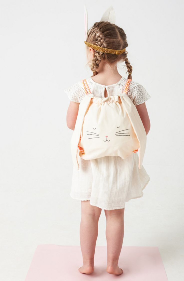 Rabbit Backpack   Meri Meri