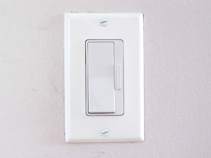 DIY Network experts demonstrate how to replace a light switch with a dimmer switch.