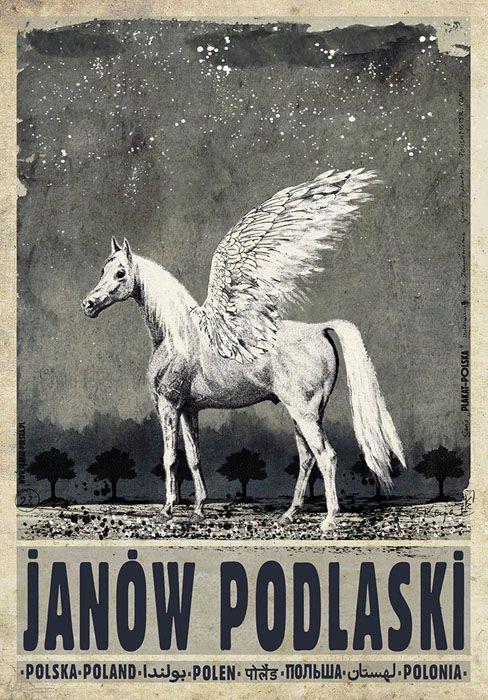 Ryszard Kaja, Janow Podlaski, Polish Promotion Poster
