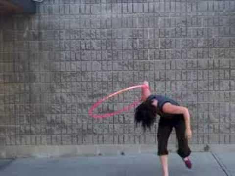 Hoop Tutorial with Carla Snow: Wedgie Flip to Scorpion Combo