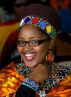 Zola Zelusiwe Mafu, married King of the Zulus Goodwill Zwelethini in 2004. She is his sixth Queen.