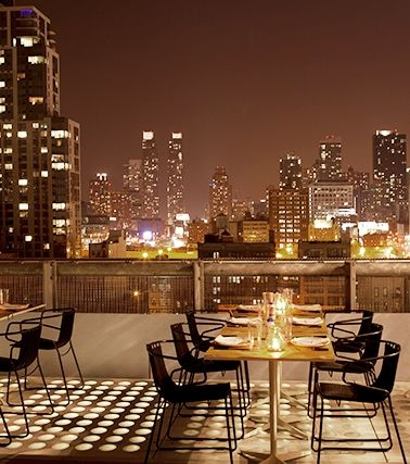 The 13 sexiest date spots in NYC. Trying to be at at least 10 of those places.