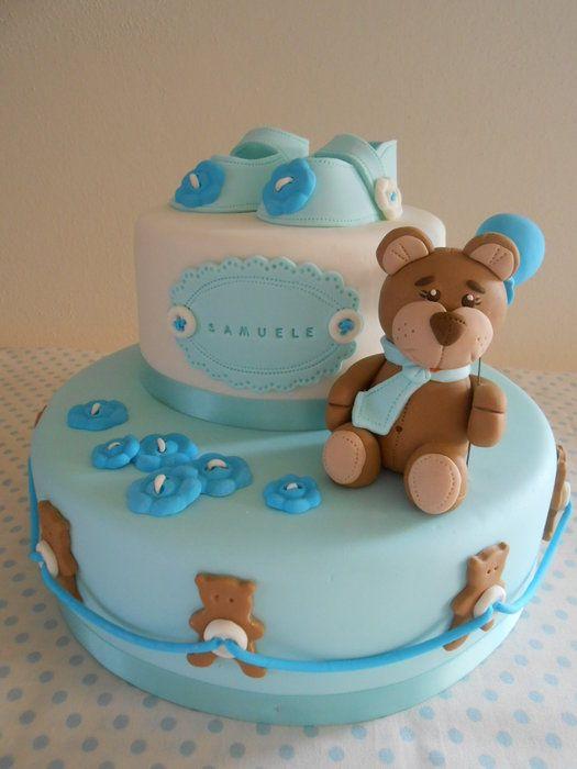 Cake For Christening Pinterest