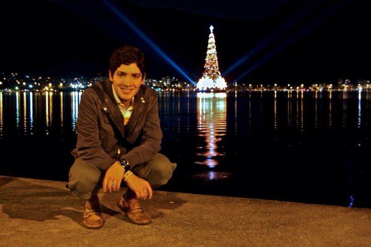 Navidad en Río de Janeiro.