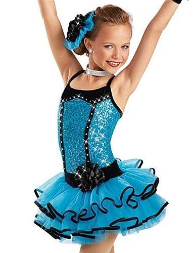 производительность джаз / черный EdgeWay джазовые танцевальные костюмы Танцевальная детские для девочек (больше цветов) – EUR € 89.99