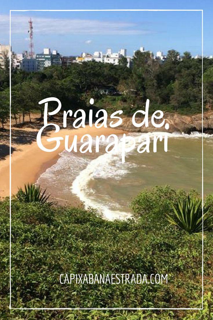 Conheça as Praias de Guarapari, no Espírito Santo.