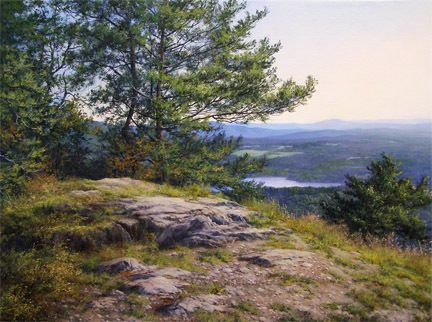 On a Clear Day - Oil