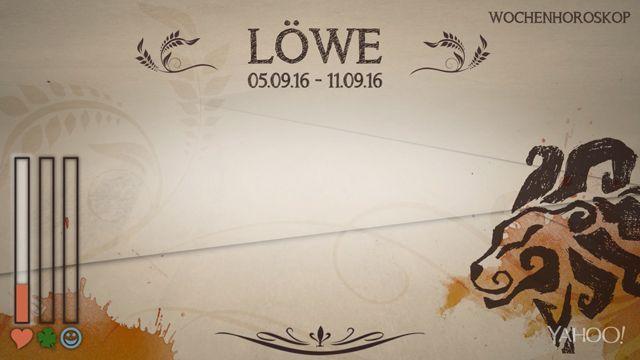 Wochenhoroskop: Löwe (KW 36 - 2016) - So stehen deine Sterne Kinder Wochen vom 5. - 11.9.2016 #Horoskop #Löwe #Liebe #Gesundheit #Job