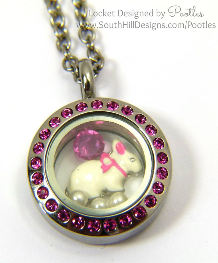 South Hill Designs - New Baby Pink Bunny!