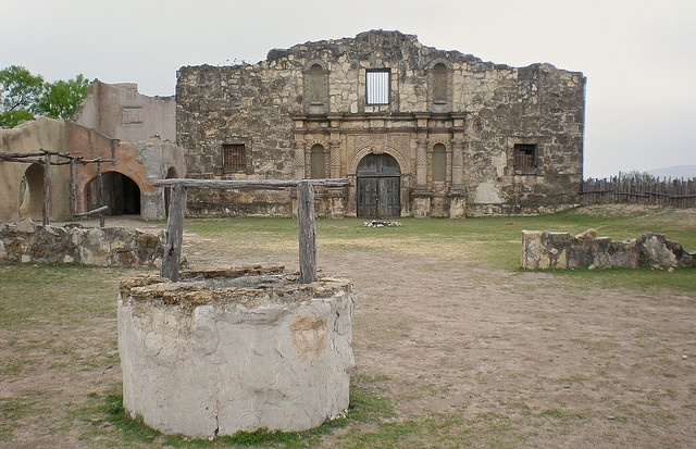 Alamo Village, Brackettville, Texas.  Site of John Wayne's  Alamo movie set