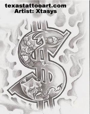 8 best cash money tattoo stencils images on pinterest cash money tattoo stencils and money tattoo. Black Bedroom Furniture Sets. Home Design Ideas
