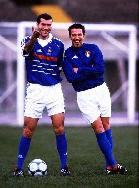 Zidane & Del Piero