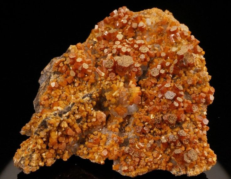 Vanadinite - San Carlos Mine, San Carlos District, Chihuahua, Mexico