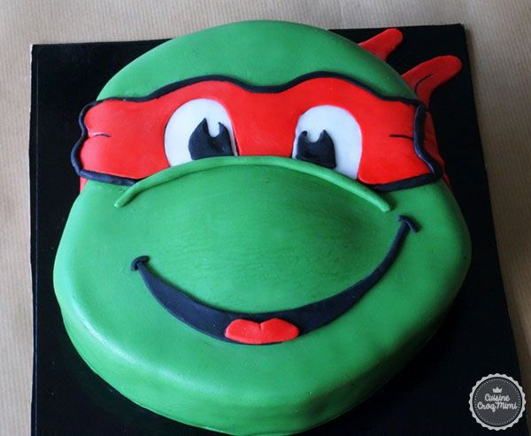 Les 25 meilleures id es de la cat gorie g teaux tortues for Repere des tortue ninja