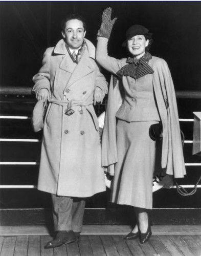 Норма Ширер и Ирвинг Тальберг - Февраль 1933 года в Лос-Анджелес, Калифорния