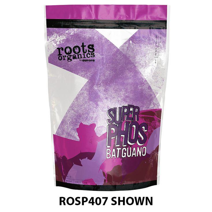 Roots Organics Super Phos Bat Guano, 9 lb