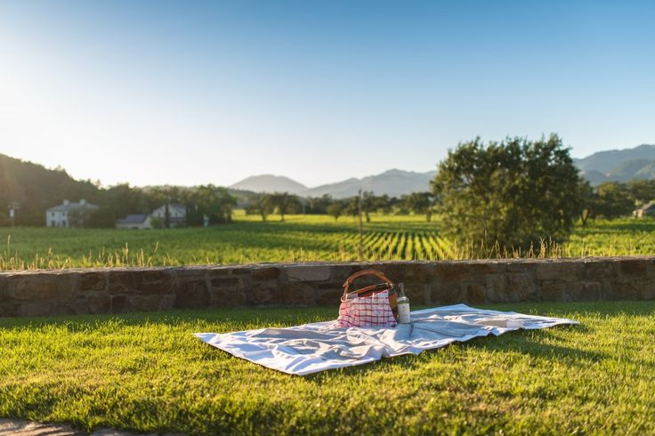 The Best Napa Valley Wineries to have a Picnic
