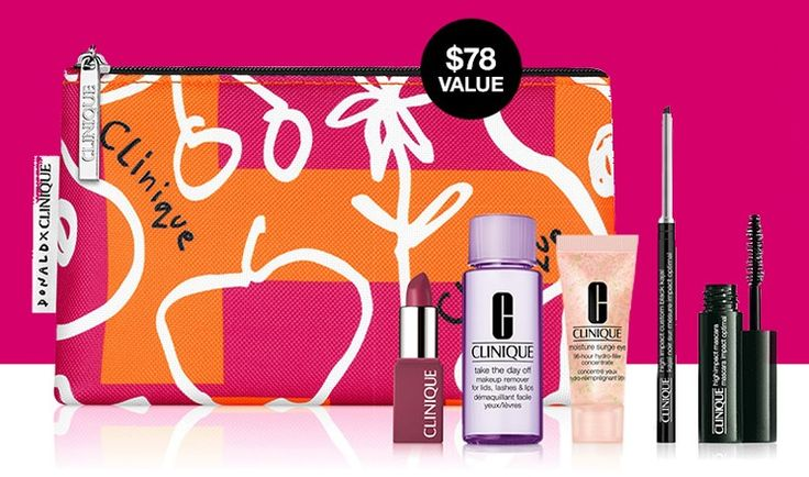 Clinique gift with purchase at dillards in 2021