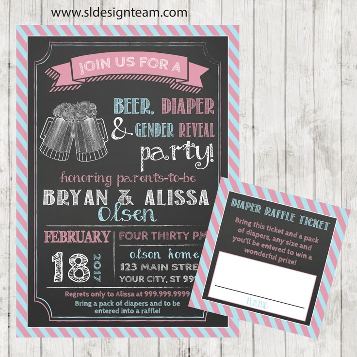 couples baby shower invitation bbq beer and diaper party bbq baby shower gender reveal invitation