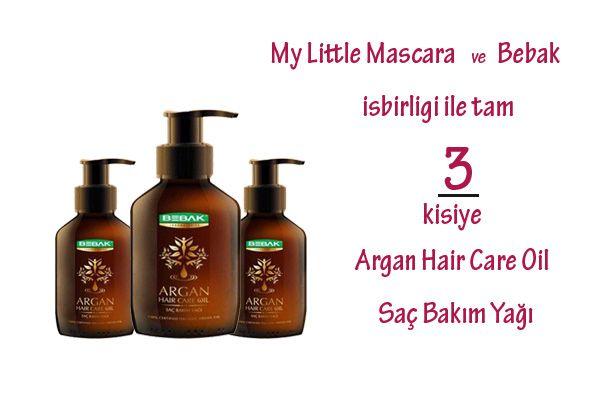 Kapandi Ilk Cekilis Bebak Argan Hair Care Oil Sac Bakim Yagi