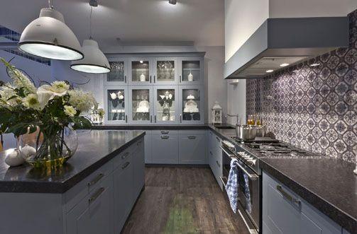 Uw KeukenSpeciaalzaak selectiv landelijk oud Hollands blauw - Product in beeld - Startpagina voor keuken ideeën   UW-keuken.nl