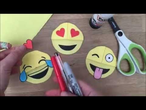 Marcador de livros | DIY Como fazer um marcador de livro dos emotion - YouTube