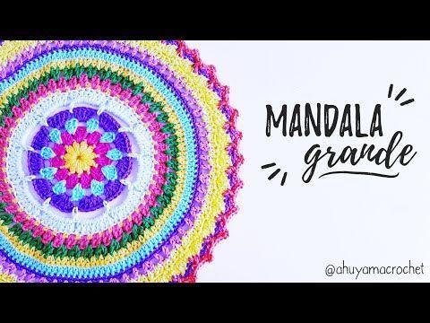 Mandala Espiral de la vida. Primera parte: como hacer la estructura de 12 puntas. - YouTube