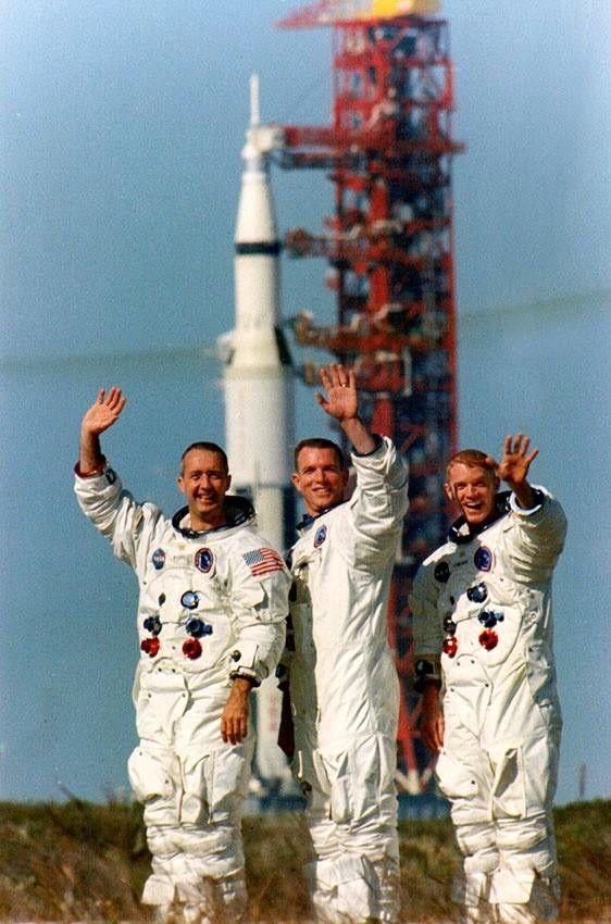 The crew of Apollo 9.
