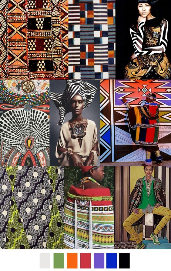 Inspiring Print & Pattern Part 3: Ethnic & Tribal