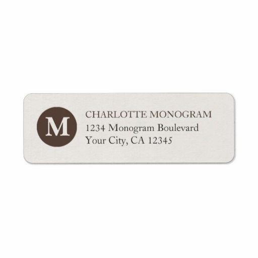 >>>Cheap Price Guarantee          	Chocolate and Cream Monogram Return Address Labels           	Chocolate and Cream Monogram Return Address Labels online after you search a lot for where to buyDeals          	Chocolate and Cream Monogram Return Address Labels lowest price Fast Shipping and sa...Cleck Hot Deals >>> http://www.zazzle.com/chocolate_and_cream_monogram_return_address_labels-106448975749864093?rf=238627982471231924&zbar=1&tc=terrest