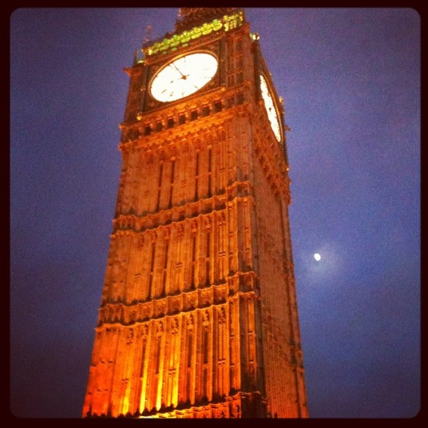 Big Ben, London, May 2012