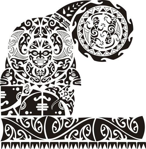 plantillas para tatuajes maori hombre - Buscar con Google