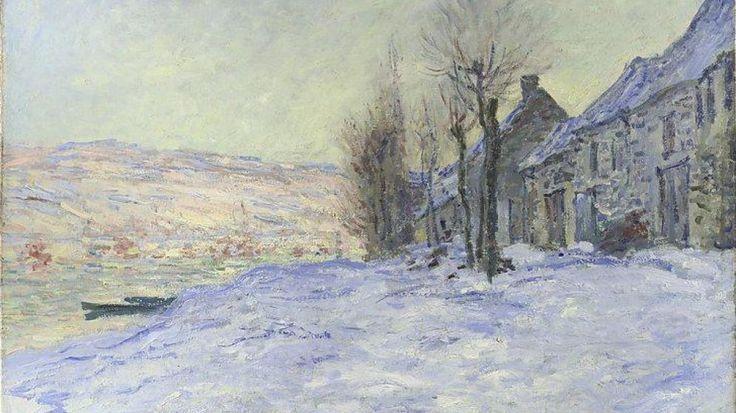 Foto: Uno de los cuadros de Monet incluido en la exposición