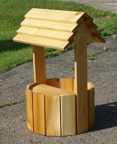 Small Wishing Well Well Pinterest Wishing Well Woodworking