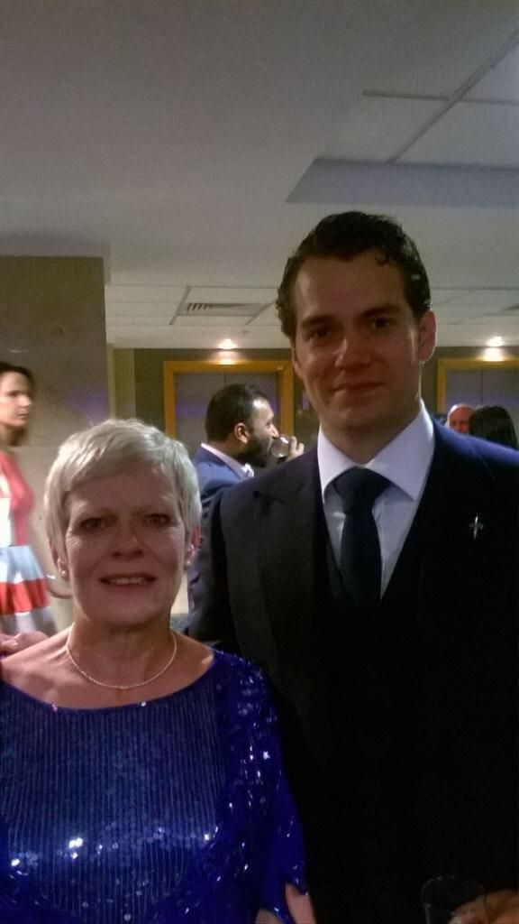 """How lucky I am, Superman at #iofawards"" via Denise Bishop. Everything frm London http://bit.ly/1S3nHjf  #HenryCavill"
