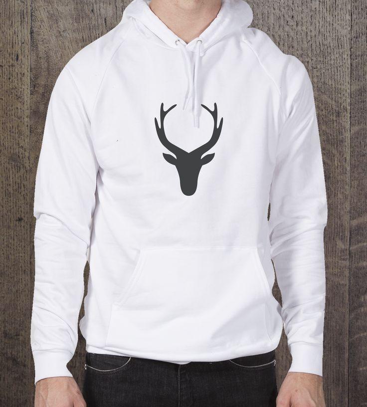 Deer | Hoodie | Mens