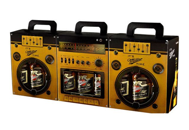 Pounding Beats (And Beers): Boombox Shaped Beer Case