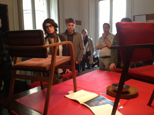 Tour guides of Franco Albini Foundation