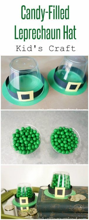 Candy Filled Leprechaun Hat DIY