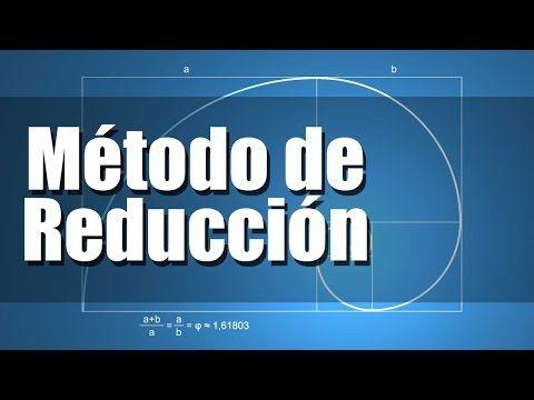 Método de Reducción - Sistema de Ecuaciones - YouTube